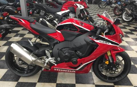 2018 Honda CBR1000RR for sale at Irv Thomas Honda Suzuki Polaris in Corpus Christi TX