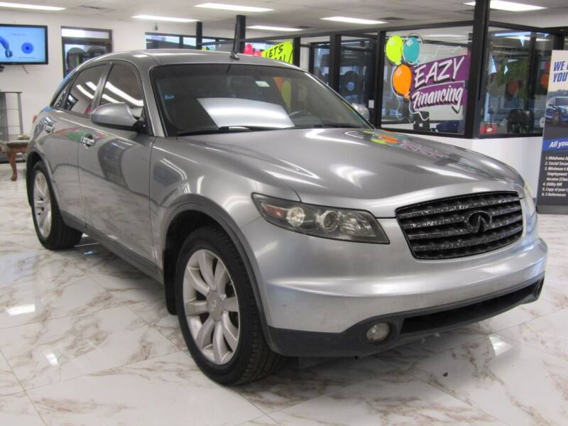 2003 Infiniti FX35 for sale at Dealer One Auto Credit in Oklahoma City OK