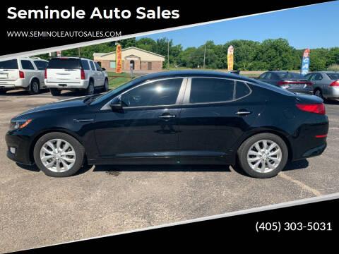 2017 Kia Optima for sale at Seminole Auto Sales in Seminole OK