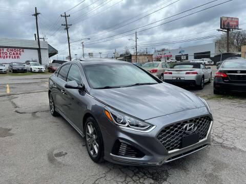 2018 Hyundai Sonata for sale at Green Ride Inc in Nashville TN