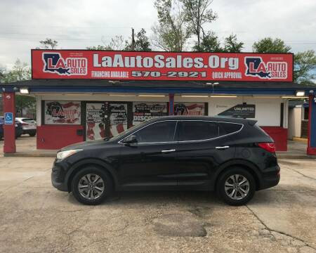 2015 Hyundai Santa Fe Sport for sale at LA Auto Sales in Monroe LA