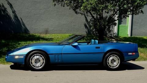 1987 Chevrolet Corvette for sale at Premier Luxury Cars in Oakland Park FL