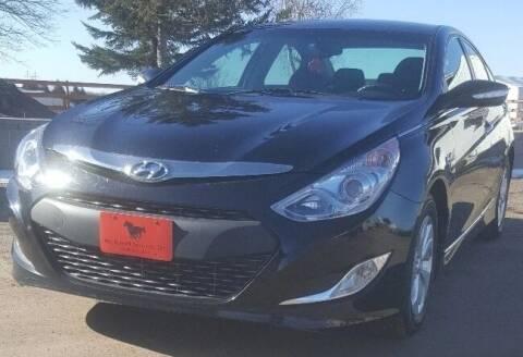2013 Hyundai Sonata Hybrid for sale at Mechanical Services Inc in Oshkosh WI