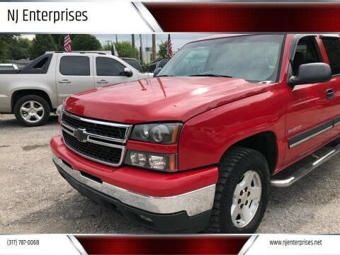 2006 Chevrolet Silverado 1500 for sale at NJ Enterprises in Indianapolis IN