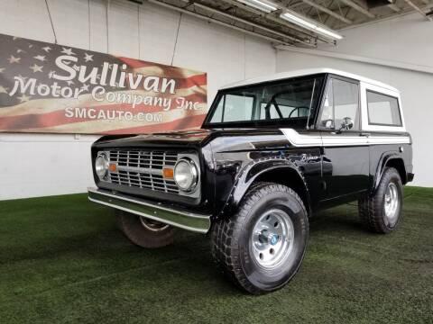 1966 Ford Bronco for sale at SULLIVAN MOTOR COMPANY INC. in Mesa AZ
