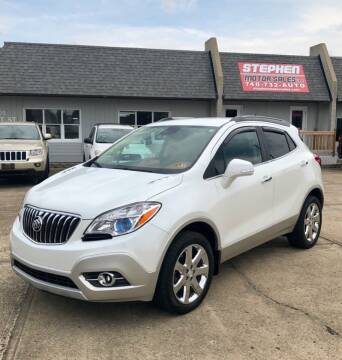 2014 Buick Encore for sale at Stephen Motor Sales LLC in Caldwell OH