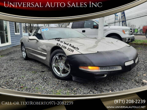 2000 Chevrolet Corvette for sale at Universal Auto Sales Inc in Salem OR