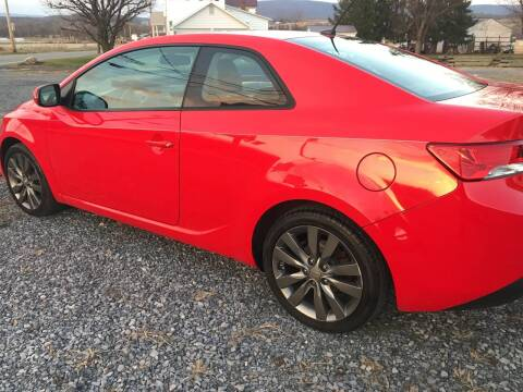 2011 Kia Forte Koup for sale at CESSNA MOTORS INC in Bedford PA