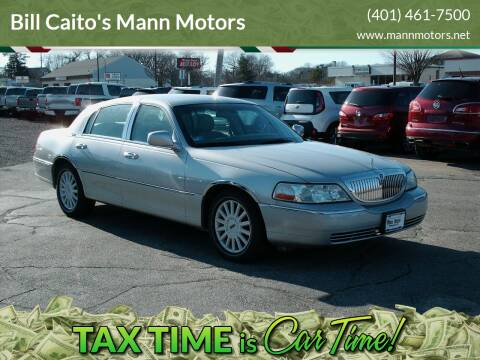 2005 Lincoln Town Car for sale at Bill Caito's Mann Motors in Warwick RI