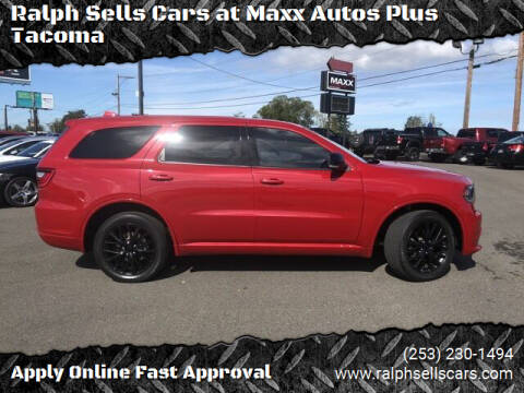 2016 Dodge Durango for sale at Ralph Sells Cars at Maxx Autos Plus Tacoma in Tacoma WA
