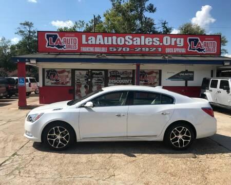 2016 Buick LaCrosse for sale at LA Auto Sales in Monroe LA