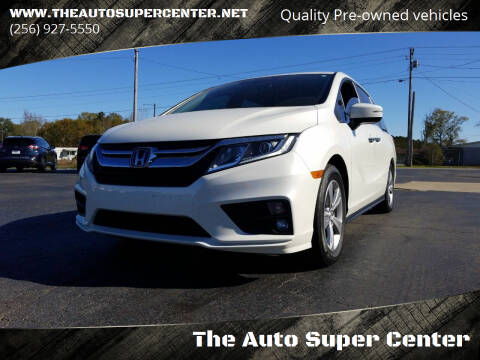2019 Honda Odyssey for sale at The Auto Super Center in Centre AL
