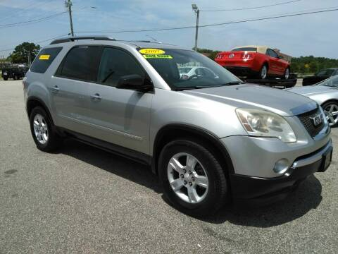 2007 GMC Acadia for sale at Kelly & Kelly Supermarket of Cars in Fayetteville NC