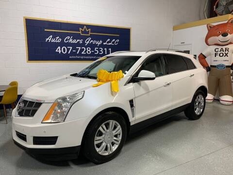 2012 Cadillac SRX for sale at Auto Chars Group LLC in Orlando FL