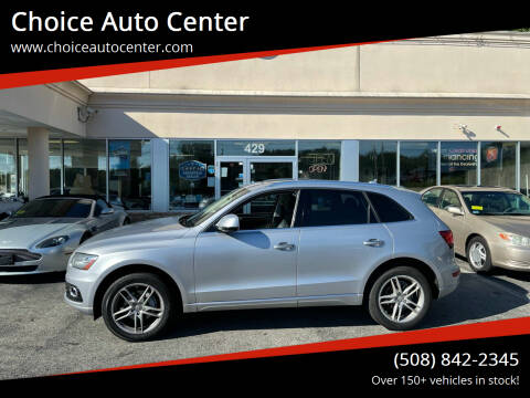 2016 Audi Q5 for sale at Choice Auto Center in Shrewsbury MA