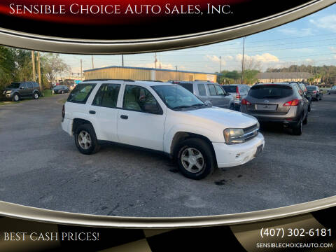 2006 Chevrolet TrailBlazer for sale at Sensible Choice Auto Sales, Inc. in Longwood FL