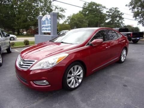 2013 Hyundai Azera for sale at Good To Go Auto Sales in Mcdonough GA
