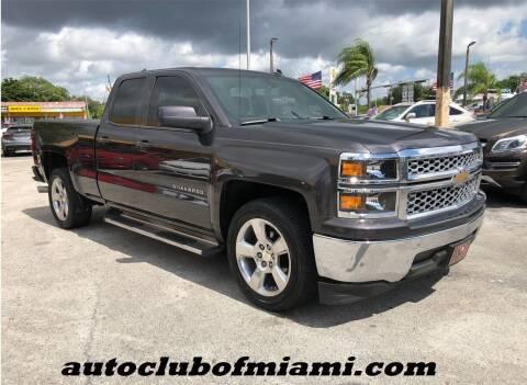 2014 Chevrolet Silverado 1500 for sale at AUTO CLUB OF MIAMI, INC in Miami FL