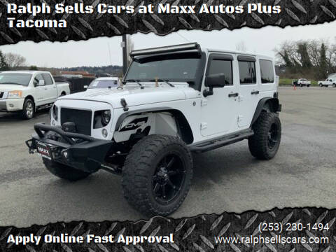 2014 Jeep Wrangler Unlimited for sale at Ralph Sells Cars at Maxx Autos Plus Tacoma in Tacoma WA