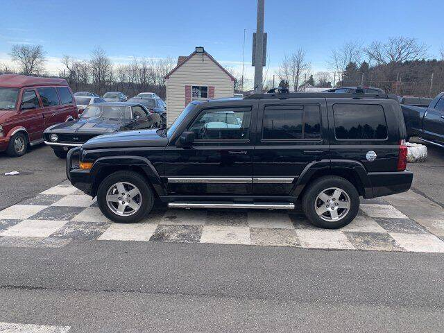 2010 Jeep Commander for sale at FUELIN FINE AUTO SALES INC in Saylorsburg PA