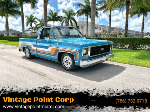 1978 Chevrolet C/K 10 Series for sale at Vintage Point Corp in Miami FL