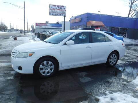 2011 Toyota Camry for sale at City Motors Auto Sale LLC in Redford MI