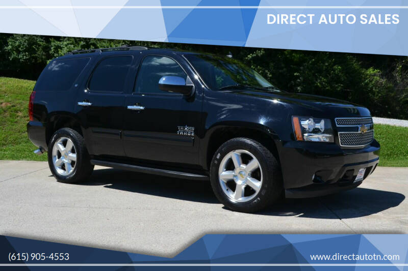 2013 Chevrolet Tahoe for sale at Direct Auto Sales in Franklin TN
