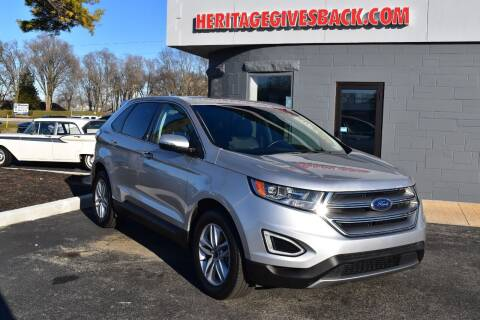 2018 Ford Edge for sale at Heritage Automotive Sales in Columbus in Columbus IN