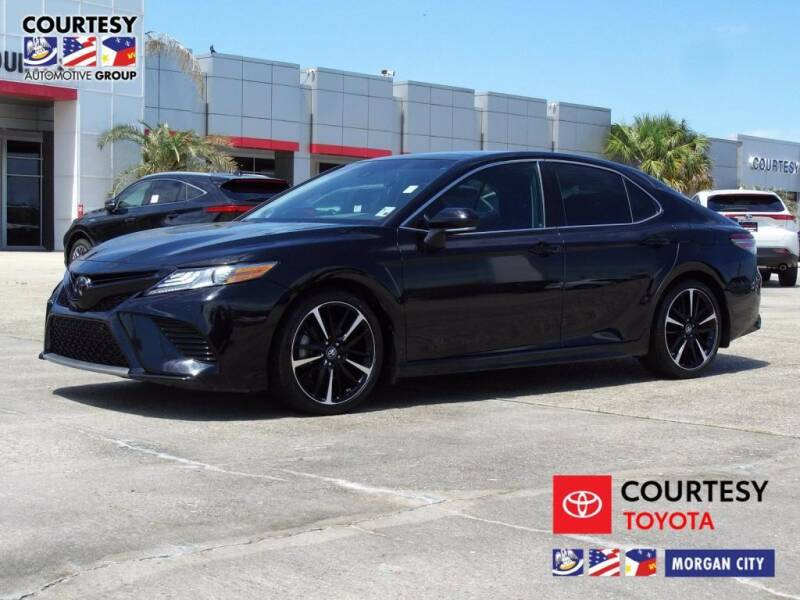 2018 Toyota Camry for sale at Courtesy Toyota & Ford in Morgan City LA