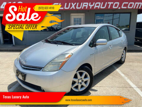 2008 Toyota Prius for sale at Texas Luxury Auto in Cedar Hill TX