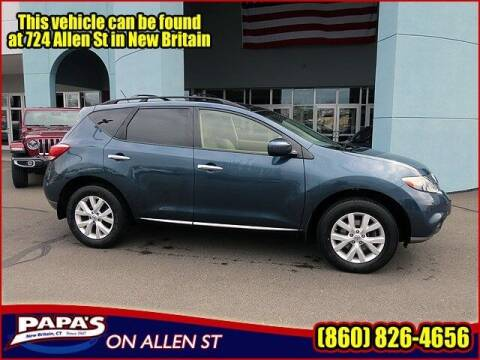 2013 Nissan Murano for sale at Papas Chrysler Dodge Jeep Ram in New Britain CT