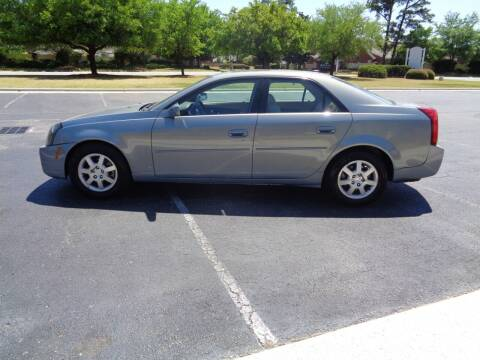 2007 Cadillac CTS for sale at BALKCUM AUTO INC in Wilmington NC