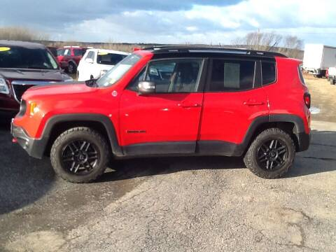 2016 Jeep Renegade for sale at Garys Sales & SVC in Caribou ME