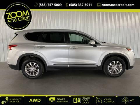 2019 Hyundai Santa Fe for sale at ZoomAutoCredit.com in Elba NY
