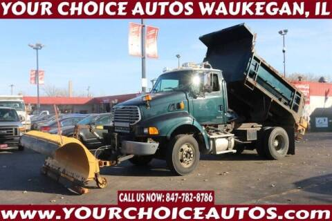 2006 Sterling L8500 Series DUMP TRUCK for sale at Your Choice Autos - Waukegan in Waukegan IL