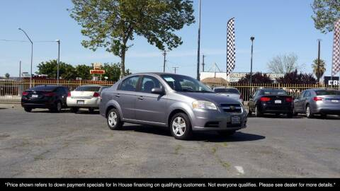 2011 Chevrolet Aveo for sale at Westland Auto Sales in Fresno CA