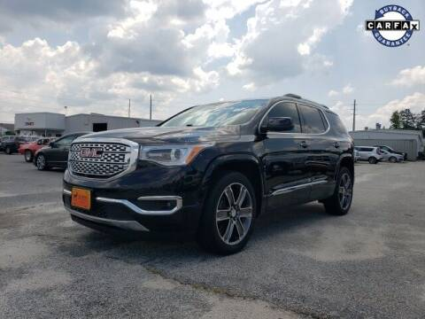 2018 GMC Acadia for sale at Hardy Auto Resales in Dallas GA