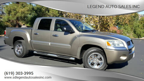 2006 Mitsubishi Raider for sale at Legend Auto Sales Inc in Lemon Grove CA