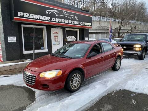 2004 Chrysler Sebring for sale at Premier Automotive Group in Pittsburgh PA