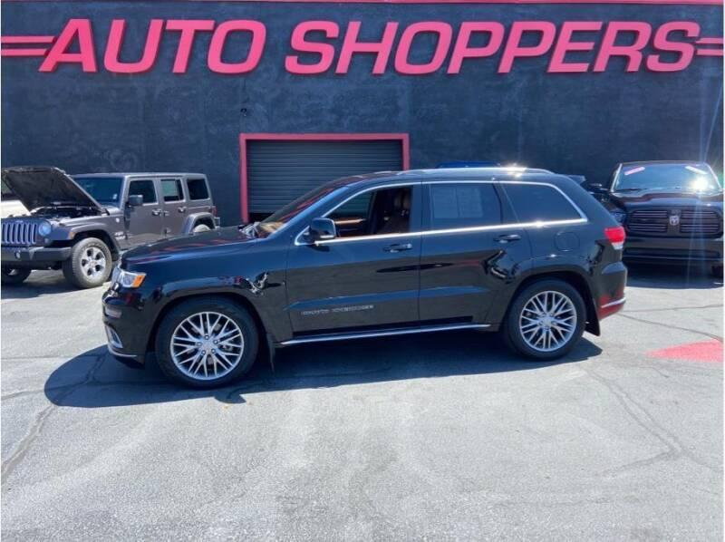 2018 Jeep Grand Cherokee for sale at AUTO SHOPPERS LLC in Yakima WA