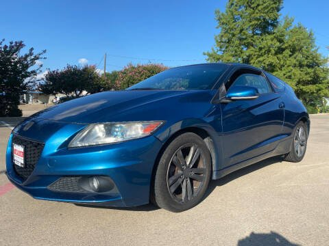 2013 Honda CR-Z for sale at Ted's Auto Corporation in Richardson TX