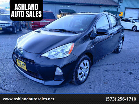 2014 Toyota Prius c for sale at ASHLAND AUTO SALES in Columbia MO