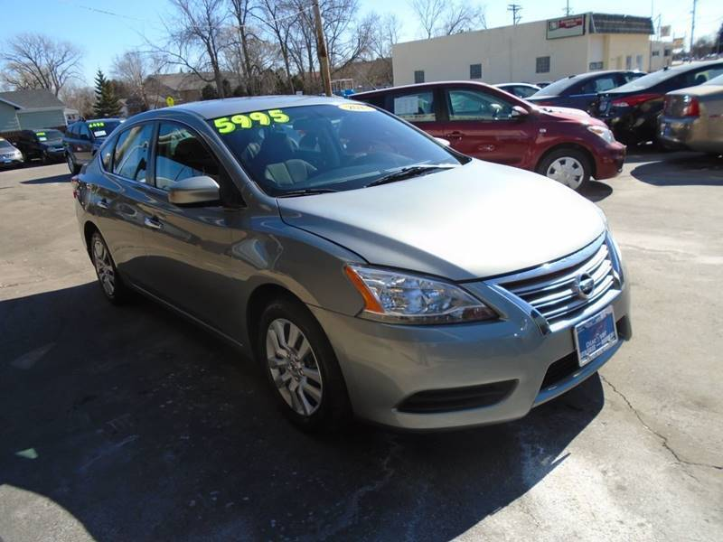 2013 Nissan Sentra for sale at DISCOVER AUTO SALES in Racine WI
