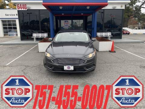 2018 Ford Fusion for sale at 1 Stop Auto in Norfolk VA