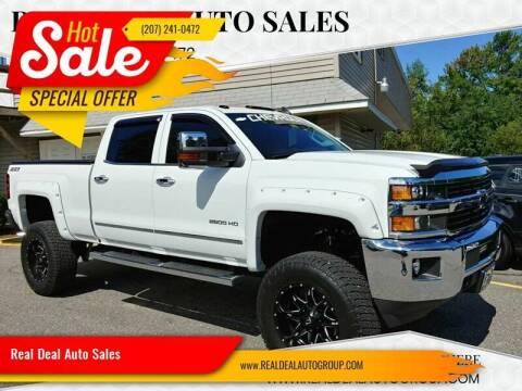 2015 Chevrolet Silverado 2500HD for sale at Real Deal Auto Sales in Auburn ME