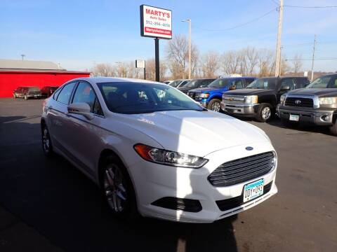 2016 Ford Fusion for sale at Marty's Auto Sales in Savage MN