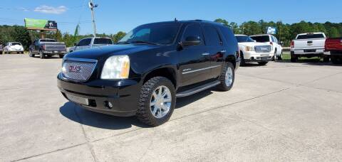 2010 GMC Yukon for sale at WHOLESALE AUTO GROUP in Mobile AL
