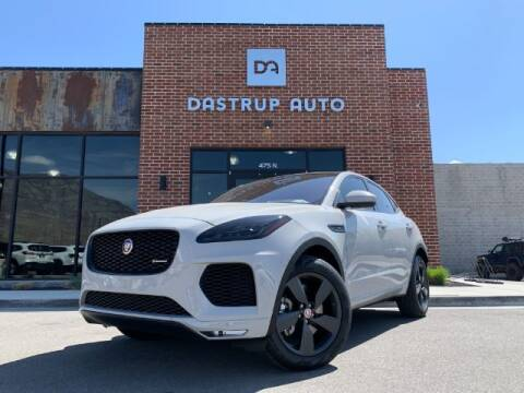 2019 Jaguar E-PACE for sale at Dastrup Auto in Lindon UT