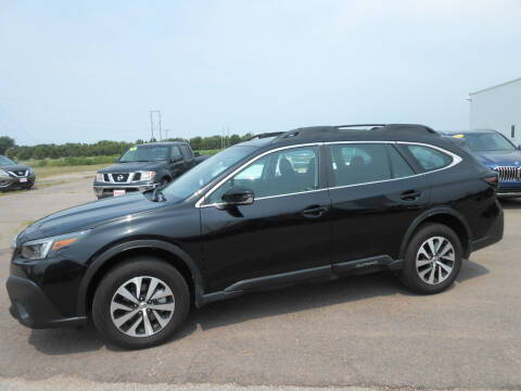 2020 Subaru Outback for sale at Salmon Automotive Inc. in Tracy MN
