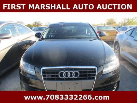 2009 Audi A4 for sale at First Marshall Auto Auction in Harvey IL